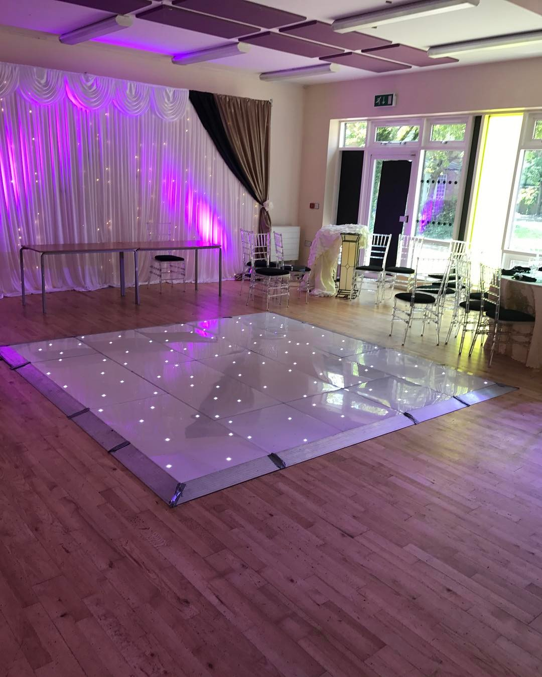 LED Dance Floor Hire A Team Occasion - Discount dance flooring