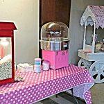 Popcorn Machine, Candy Floss Machine and Sweet Cart.
