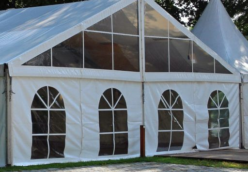 Our Marquee can hold up to 75 people.