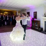 Our LED Dance Floor at another wedding.