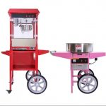 Popcorn Machine and Candy Floss Machine